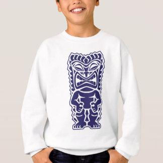 tiki Totem-Kriegersmädchen Stammes- Sweatshirt