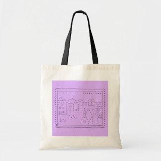 tilde.town ASCII Kunst-Tasche Tragetasche