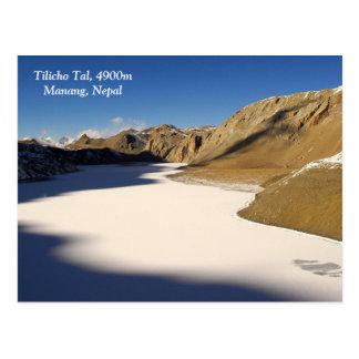 Tilicho Tal Postkarte