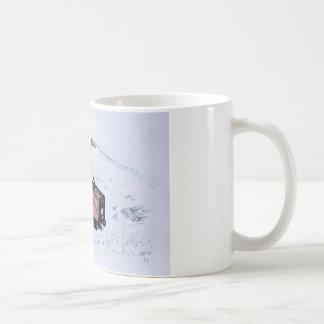Timberwolf hölzerner Abklopfhammer Kaffeetasse