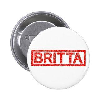 Timbre de Britta Badge Rond 5 Cm