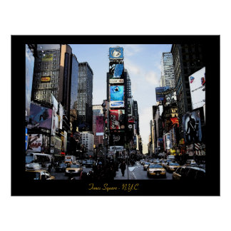 Times Square - Druck N.Y.C. Poster