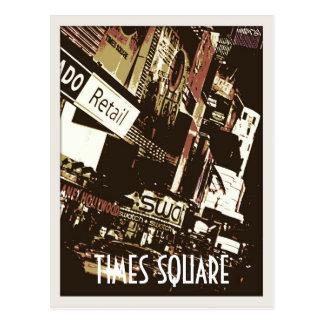 Times Square-Kunst-Postkarten Postkarte