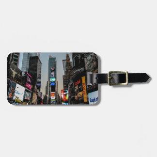 Times Square, New York City Adress Schild