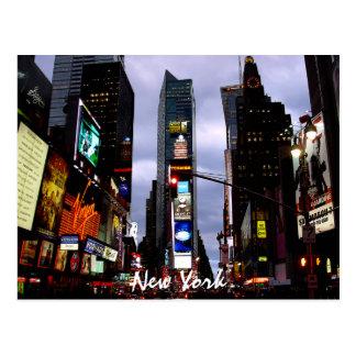 Times Square-Postkarten-New- Yorkandenken-Karte Postkarte