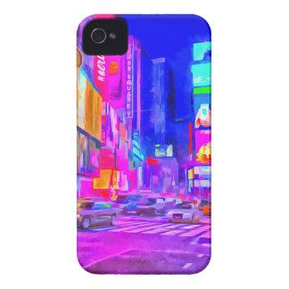 Times- SquarePop-Kunst Case-Mate iPhone 4 Hülle