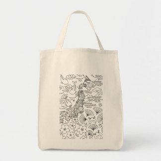 Tinte: JAPAN-Taschen-Tasche Tragetasche