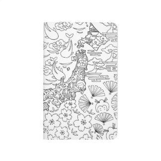Tinte: JAPAN-Taschen-Zeitschrift Taschennotizbuch