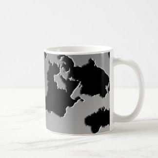 Tinten-Fleck-Kaffeetasse Tasse
