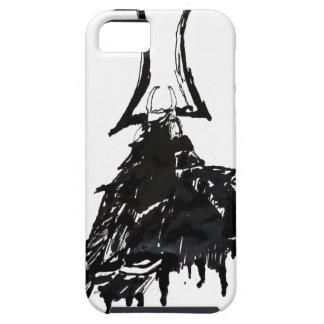 Tinten-Samurais 1 iPhone 5 Etui