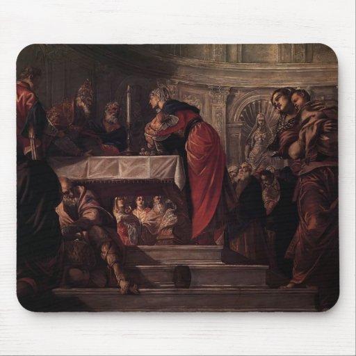 Tintoretto- la présentation du Christ dans le temp Tapis De Souris