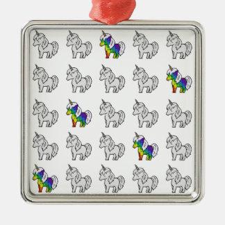 Tinycorn Silbernes Ornament