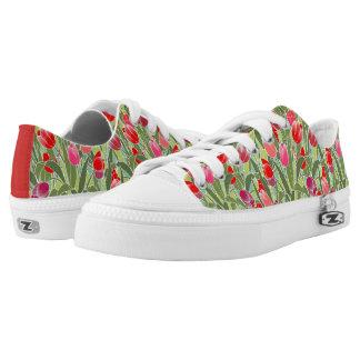 Tiptoe durch die Tulpen Niedrig-geschnittene Sneaker