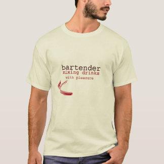 tipworthy trendy T - Shirt des Barkeepers mit