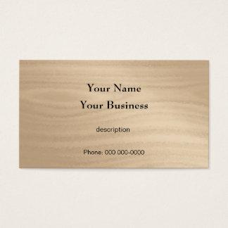 Tischler-Bau-Heimwerker-Holz-Korn Visitenkarten