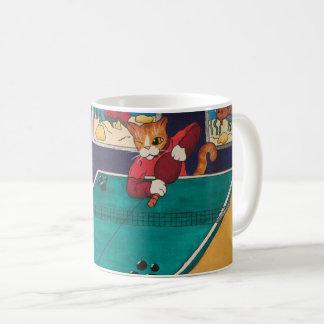 Tischtennis-Katzen Kaffeetasse