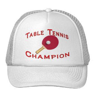 Tischtennis-Meister Truckerkappe