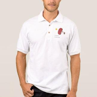 Tischtennis, Ping pong Polo-Shirt mit Namen Polo Shirt
