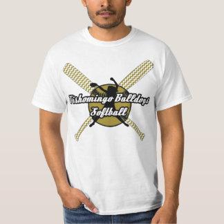 Tishomingo Bulldoggen-Softball T-Shirt