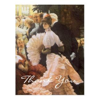 Tissots die politische Dame Postkarte