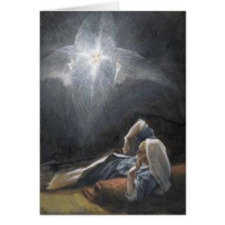 """Tissots """"die Vision von St Joseph"""" Einführung Grußkarte"""