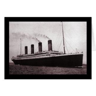 Titanisch in Meer Karte