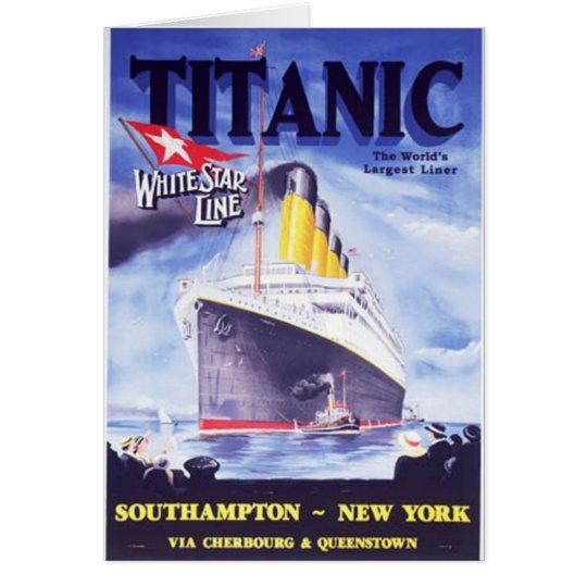 Titanisch Karte