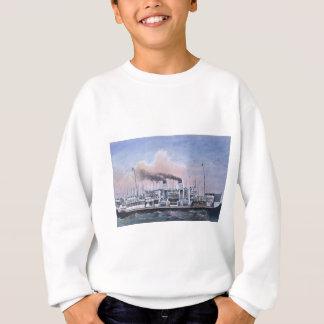 Titanische interne Illustration Effektivwerts Sweatshirt