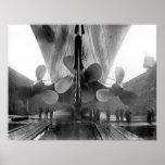 Titanische Propeller Poster