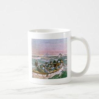 Titanische Überlebende Effektivwerts im Kaffeetasse