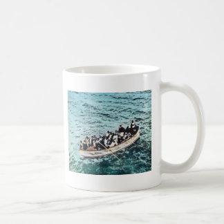 Titanische Überlebende Effektivwerts in den Kaffeetasse