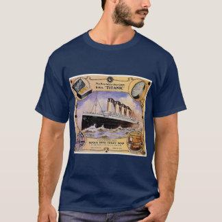 Titanische Vintage Seifen-Anzeige T-Shirt