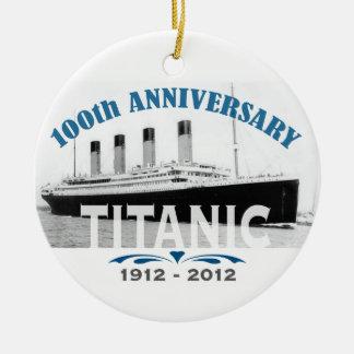 Titanischer sinkender 100-jähriger Jahrestag Keramik Ornament