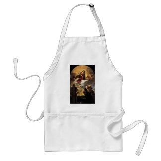 Titian- Madonna dans la gloire avec l'enfant du Ch Tablier