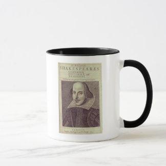 Titlepage von 'Herrn William Shakespeares Tasse