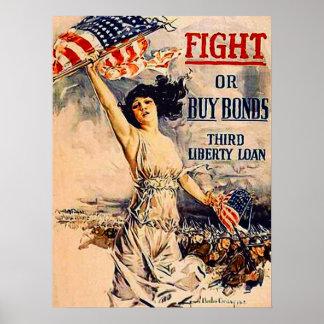 Titres d'emprunt de guerre poster