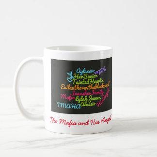 TMAHA wordle (in der schwarzen Farbe) Kaffeetasse