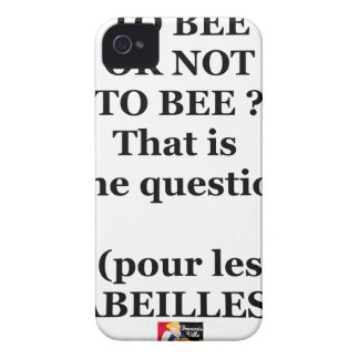 TO BEE, OR NOT TO BEE? That is the question iPhone 4 Etuis