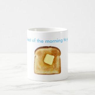 Toast des Morgens zum ya! Kaffeetasse
