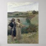 Tobias et Raphael d'Arkhangel Poster