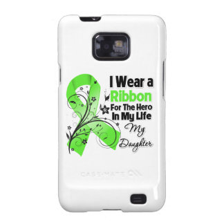 Tochter-Held in meinem Leben-Lymphom-Band Samsung Galaxy S2 Cover
