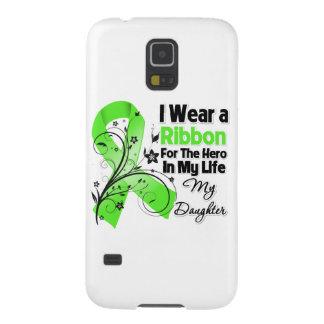 Tochter-Held in meinem Leben-Lymphom-Band Hülle Fürs Galaxy S5