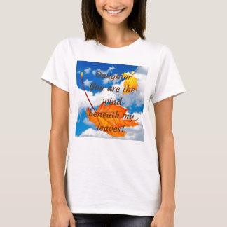Tochter sind Sie der Wind unter meinem T-Shirt