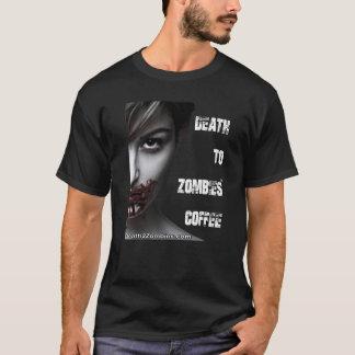 Tod dem T - Shirt zu des Zombie-Kaffee-(Männer)