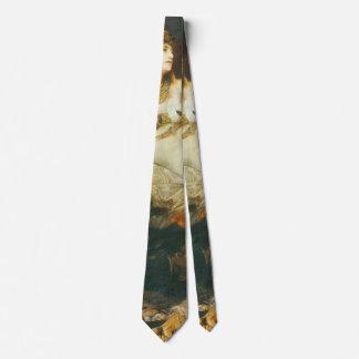Tod von Kleopatra 1875 Bedruckte Krawatte
