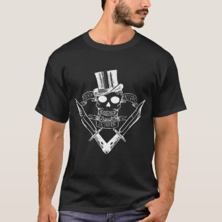 Tod vor Dishnor T weißem Entwurf T-Shirt
