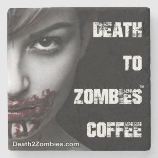 Tod zu den Zombie-Kaffee-Untersetzer Steinuntersetzer