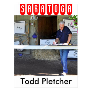 Todd Pletcher Postkarte