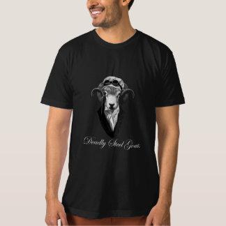 tödliche Stahlziegenmänner dunkel T-Shirt
