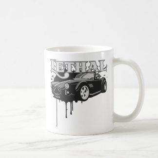 Tödliches Sport-Auto Tee Haferl